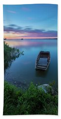 Beach Towel featuring the photograph Dreamy Colors Of The East by Davor Zerjav