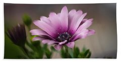 Beach Towel featuring the photograph Dreamy Flower by Mary Timman