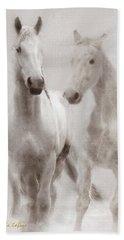 Dreamy Horses Beach Towel