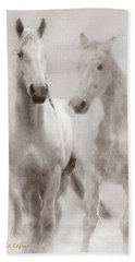 Dreamy Horses Beach Towel