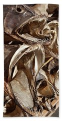 Dried Fish Heads Beach Towel