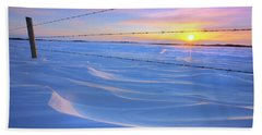 Beach Towel featuring the photograph Drifting Away by Dan Jurak