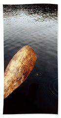 Beach Towel featuring the photograph Drifting  by Doug Gibbons