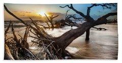 Driftwood Beach 7 Beach Towel