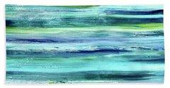 Driftwood Blue Beach Sheet