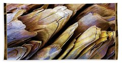 Driftwood Edges Beach Towel