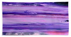 Driftwood Purple Beach Towel