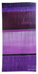 Purple Rain Beach Towel