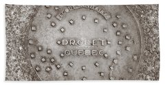 Drolet Quebec Beach Sheet