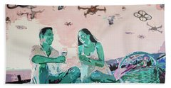 Drone Picnic Beach Towel