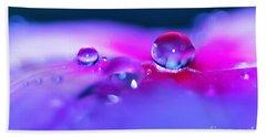 Droplets In Fantasyland Beach Sheet