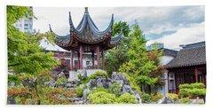 Dr. Sun Yat Sen Classical Chinese Garden, Vancouver Beach Sheet