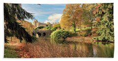 Drummond Castle Gardens Beach Towel