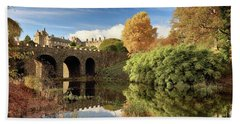Drummond Garden Autumn Beach Towel