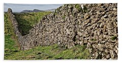 Dry Stone Wall In The Yorkshire Dales Beach Towel