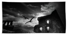 Dryslwyn Castle 3b Beach Towel
