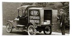Du Pont Co. Explosives Truck Pennsylvania Coal Fields 1916 Beach Sheet