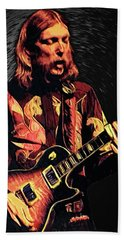 Duane Allman Beach Towel