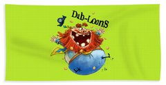 Dub-loons Beach Towel by Andy Catling