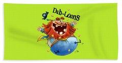 Dub-loons Beach Towel
