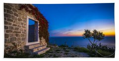 Dubrovnik Ruins Beach Towel