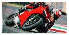 Ducati Panigale V4 - 01 Beach Towel