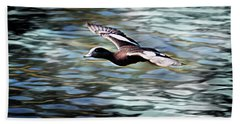 Duck Leader Beach Towel