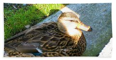 Duck Melanie Tweed In  The Sun Beach Towel