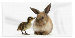 Duck Out Bunny Beach Sheet