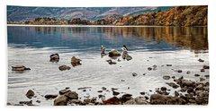 Ducks On Derwent Beach Sheet