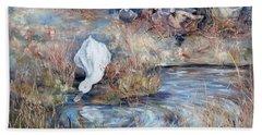 Ducks. Split Opposite Colour Harmony.  Beach Sheet