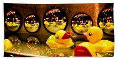 Ducky Reflections Beach Sheet
