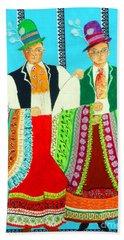 Duet -- #5 Hungarian Rhapsody Series Beach Towel