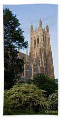 Duke Chapel Side View Beach Towel