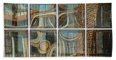 Dumbo Windows Beach Towel by Stan  Magnan