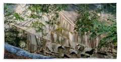 Beach Towel featuring the photograph Dummerston Quarry by Tom Singleton