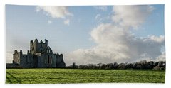 Dunbrody Abbey Beach Towel