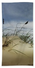 Dune And Beach Grass Beach Sheet by Randall Nyhof