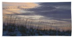 Dune Grass Blue Beach Towel