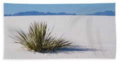 Dune Plant Beach Sheet by Marie Leslie