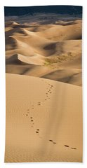 Dunefield Footprints Beach Towel