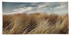 Dunes And Clouds Beach Towel
