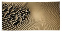 Dunes Footprints Beach Towel
