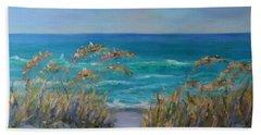 Dunes Path Ocean Painting Part 1 Beach Sheet
