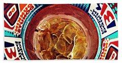 Dunkin Ice Coffee 19 Beach Sheet