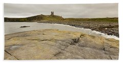Dunstanburgh Castle Beach Towel