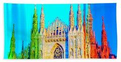 Duomo Di Milano Beach Towel