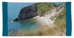 Durdle Door Photo 1 Beach Towel