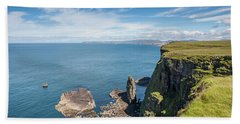 Beach Towel featuring the photograph Handa Island - Sutherland by Pat Speirs