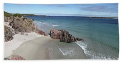 Beach Towel featuring the photograph Durness - Sutherland by Pat Speirs